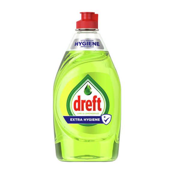 Dreft Handafwas limoen extra hygiene afwasmiddel product photo