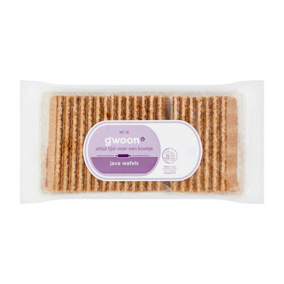 g'woon Java wafels product photo