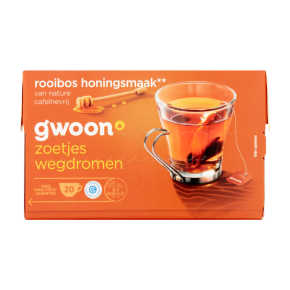 g'woon Rooibos honing thee product photo