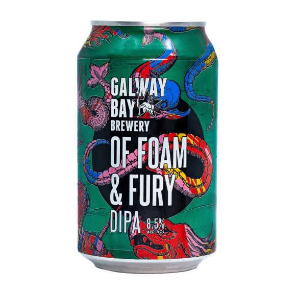 Galway Bay Of foam & fury IPA bier blik product photo