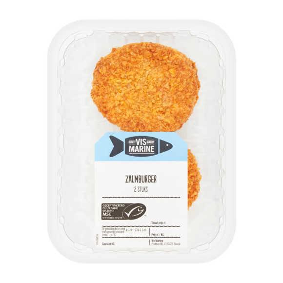 Zalmburger Bio+ 2 stuks product photo