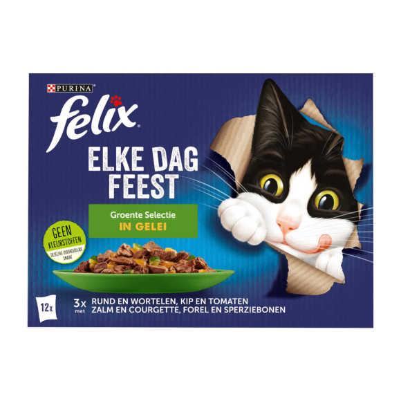 FELIX Elke Dag Feest Groente Selectie in Gelei 12x85g product photo