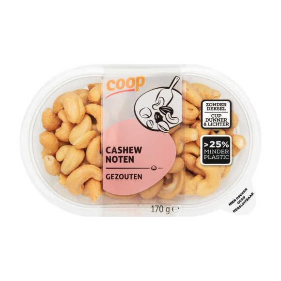 Cashewnoten gezouten product photo