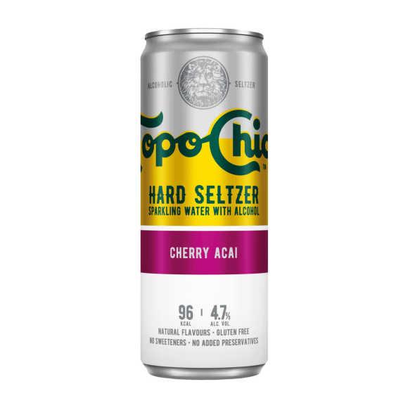 Topo Chico Cherry acai product photo