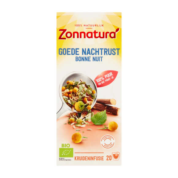 Zonnatura Bio thee goed nachtrust product photo