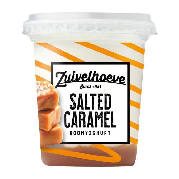 Zuivelhoeve Roomyoghurt salted caramel product photo