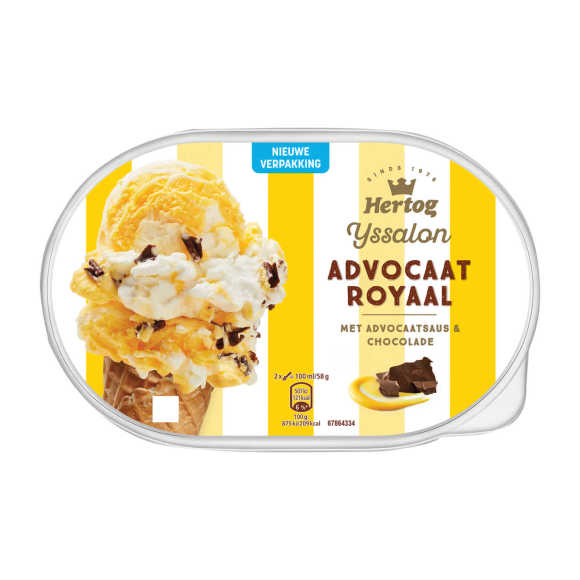 Hertog Advocaat royal schepijs product photo