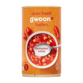 g'woon Tomatensoep product photo
