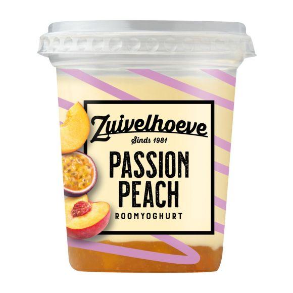 Zuivelhoeve Roomyoghurt passion peach product photo
