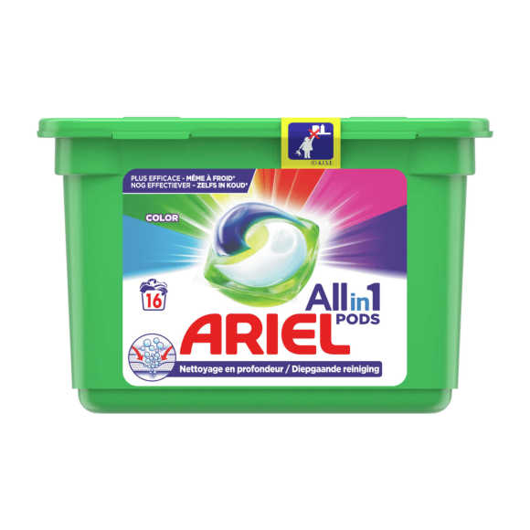 Ariel  Wasmiddel 3in1 pods color product photo