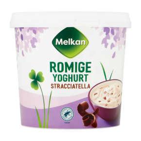 Melkan Roomyoghurt stracciatella product photo