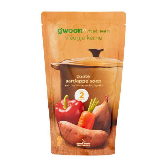 g'woon Zoete aardappelsoep product photo