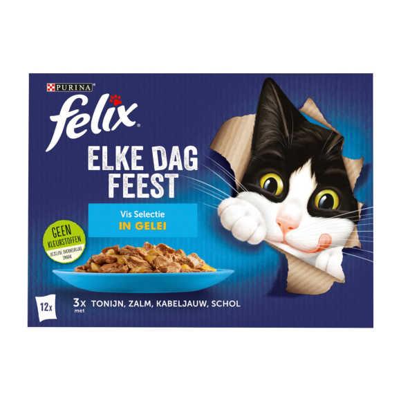 FELIX Elke Dag Feest Vis Selectie in Gelei 12x85g product photo