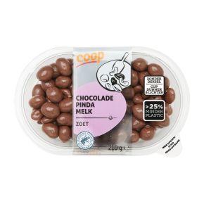 Chocolade pinda melk product photo