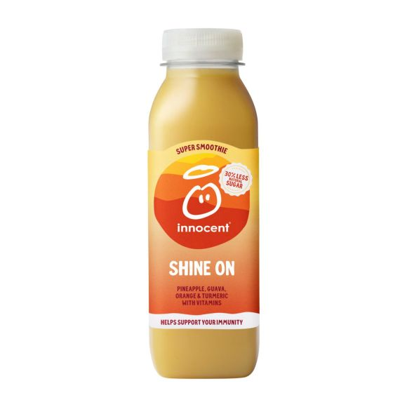 Innocent Super smoothie shine on product photo