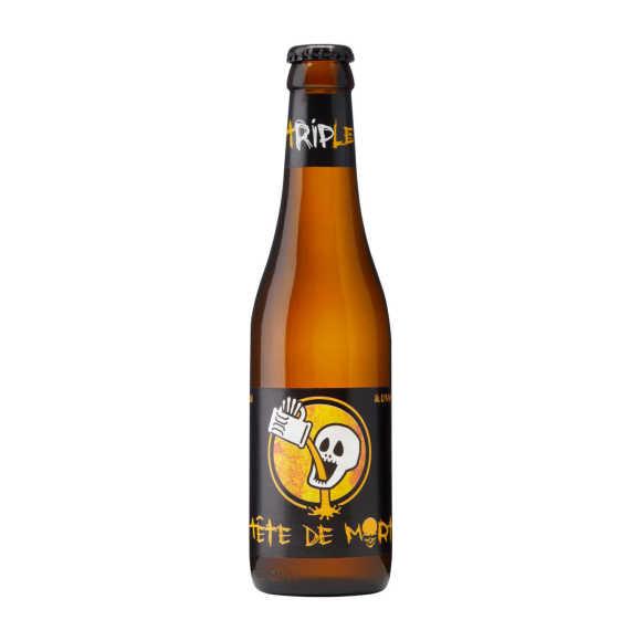 Du Bocq Tete de mort tripel bier fles product photo