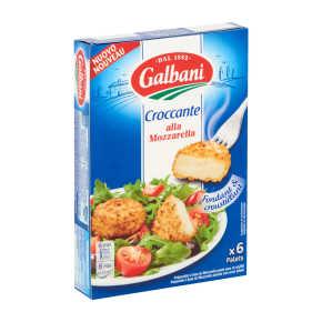 Galbani Croccante alla Mozzarella 6 x 25 g product photo