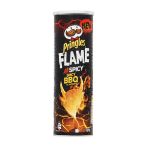 Pringles Flame spicy bbq product photo