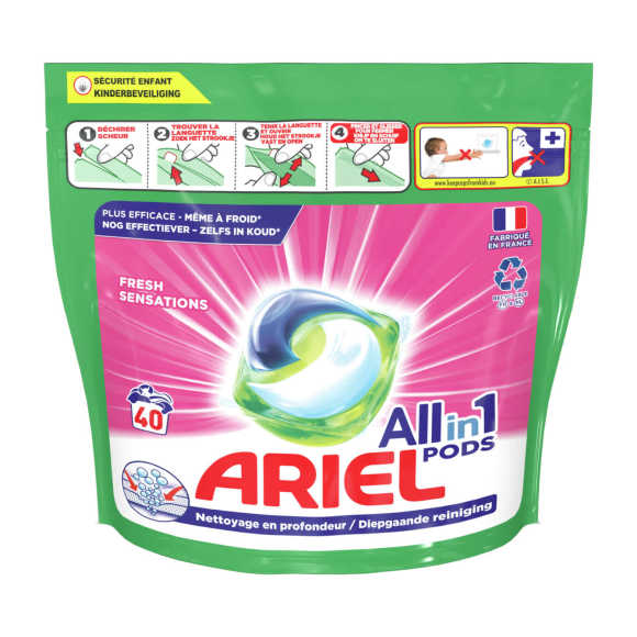 Ariel Wasmiddel all in 1 pods fresh sensations product photo