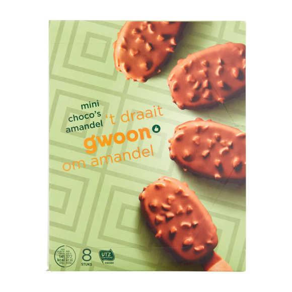 g'woon Mini choco amandel ijsjes product photo