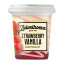 Zuivelhoeve Roomyoghurt vanille strawberry product photo