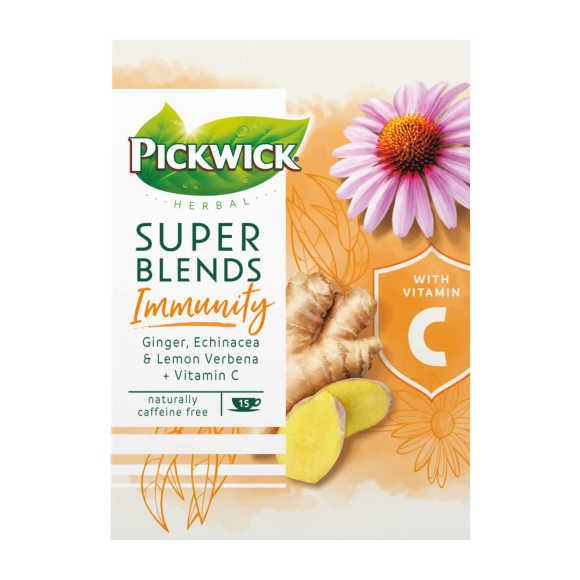Pickwick Herbal super blends immunity kruidenthee product photo