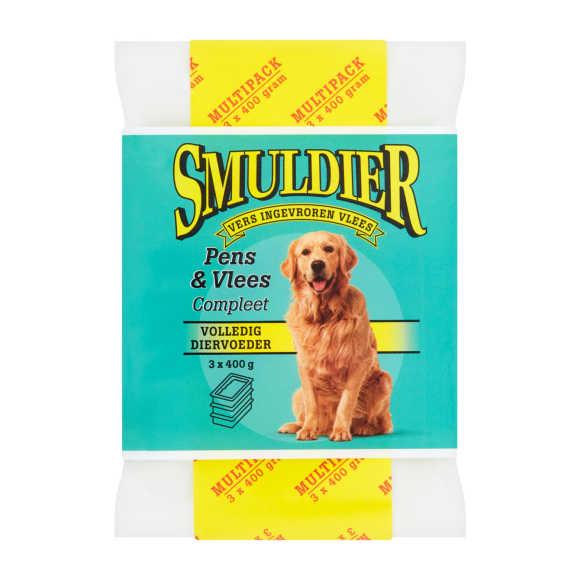 Smuldier Diervoeding hondenvoer pens & vlees product photo