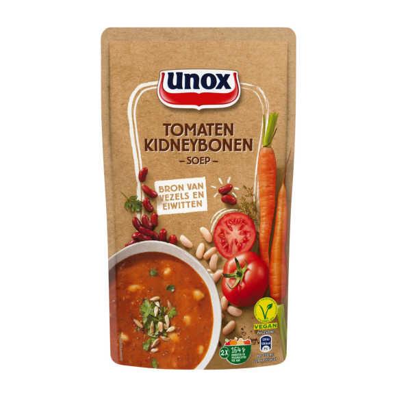 Unox Soep in zak tomaat kidneyboon product photo