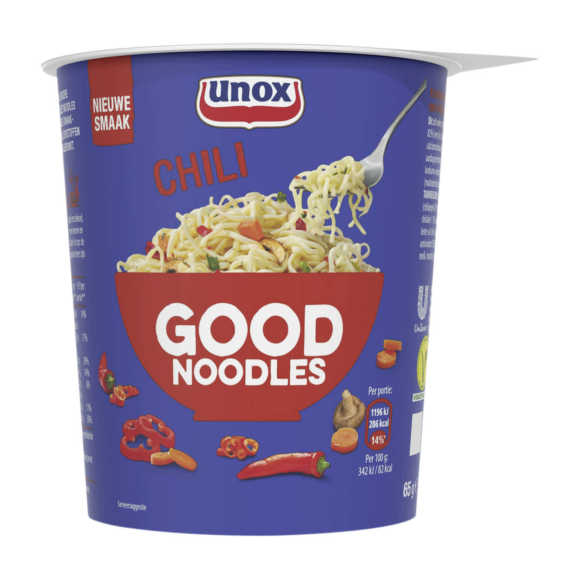 Unox Good Noodles cup chili product photo