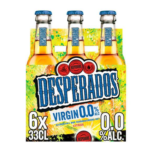 Desperados Virgin 0.0 Bier Fles 6 x 33 cl product photo