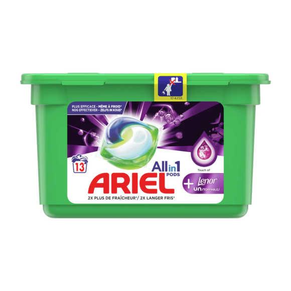 Ariel Wasmiddel3in1 pods + lenor product photo