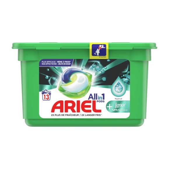 Ariel Wasmiddel 3 in 1 pods + unstop product photo