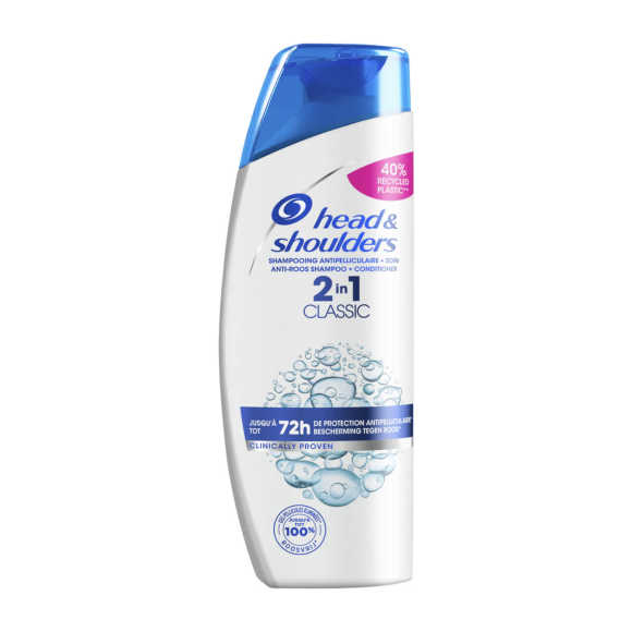 Head & Shoulders Shampoo 2in1 classic clean product photo