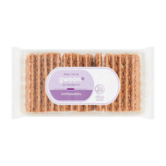 g'woon Koffie wafels product photo