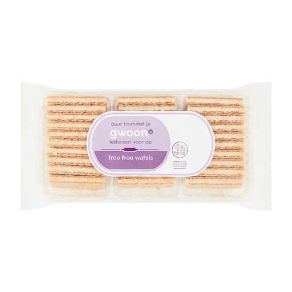 g'woon Frou frou wafels product photo