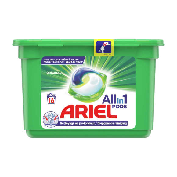 Ariel  Wasmiddel 3in1 pods original product photo