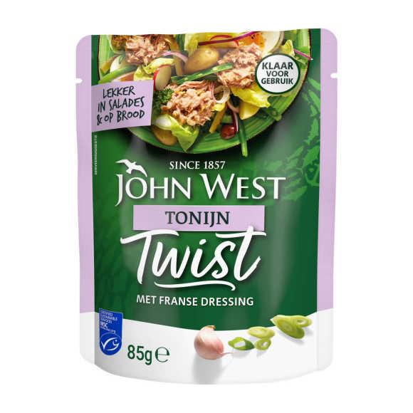 John West Tonijn twist Franse dressing product photo