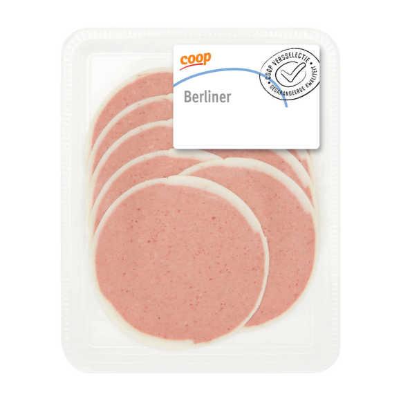 Berliner leverworst KL pack product photo