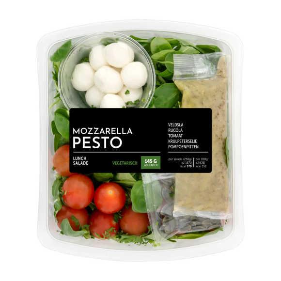 Fresh & Easy Lunch salade mozzarella pesto product photo