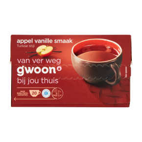 g'woon Turkse thee appel vanille product photo