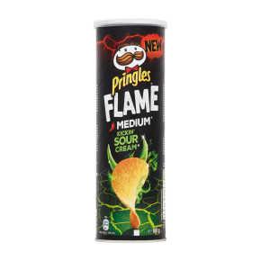 Pringles Flame sour cream product photo