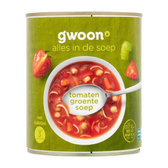 g'woon Tomaten groentesoep product photo