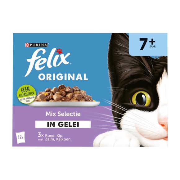 FELIX Original Mix Selectie in Gelei 7+ Senior 12x85g product photo
