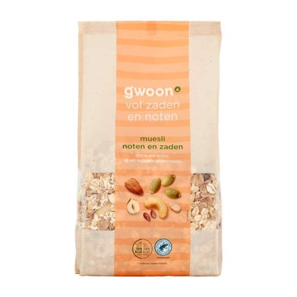 g'woon Muesli noten en zaden product photo