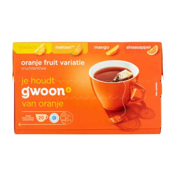 g'woon Vruchtenthee oranje fruit variatie product photo