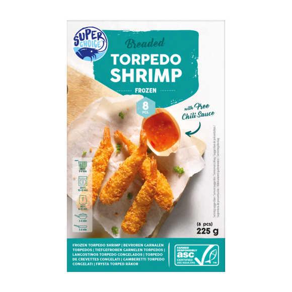 Super Choice Torpedo shrimps garnalen product photo