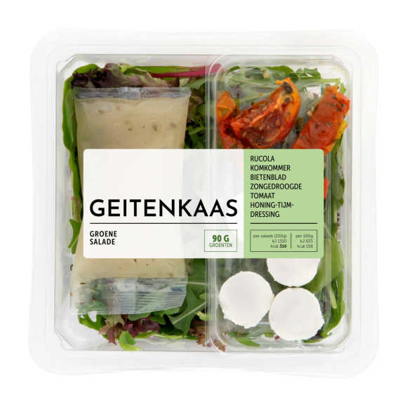 Fresh & Easy Saladeschotel geitenkaas product photo