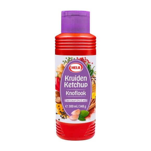 Hela Kruiden ketchup knoflook product photo