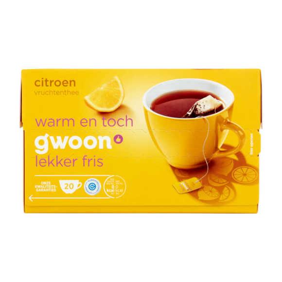 g'woon Vruchtenthee citroen product photo