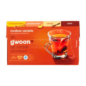 g'woon Rooibos thee variatie product photo